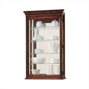 Howard Miller Edmonton Wall-Mounted Curio Cabinet