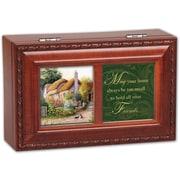 Cottage Garden Petite Irish Home Music Box