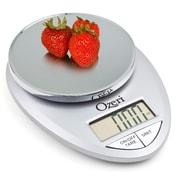 Ozeri Pro 12 lbs Digital Kitchen and Food Scale; Chrome