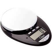 Ozeri Pro II 12 lbs Digital Kitchen Scale with Kitchen Timer; Black