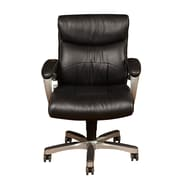 PRI Fixed Arm Black Bonded Leather & PVC Chair