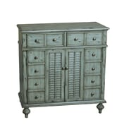 Pulaski Furniture Accent Weathered Grey Gree Chest