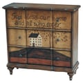 Pulaski Furniture Drawers Hall Wood Composites Chest