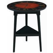 Pulaski Furniture 28 Wood Tripod Base Accent Table