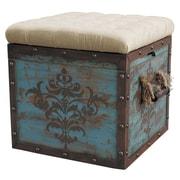 Pulaski Furniture Ottoman Hardwood Cube Ottoman
