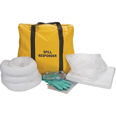 Zenith Safety 10-Gallon Truck Spill Kits, Oil Only, With Nylon Bag