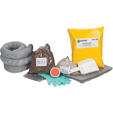 Zenith Safety 17-Gallon Western Canada Spill Kits, Universal, Without Container