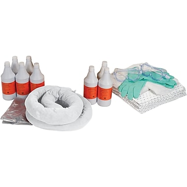 Zenith Safety 20-Gallon Caustic Spill Kits, Without Container