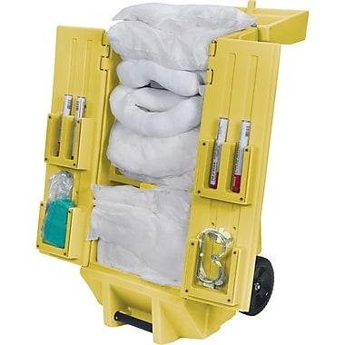 Zenith Safety 30-Gallon Tool Kaddie Mobile Spill Kits, Oil Only, With Tool Kaddie
