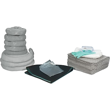 Zenith Safety 55-Gallon Spill Kits, Universal, Without Container