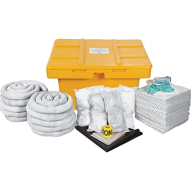 Zenith Safety 97-Gallon Spill Kits, Oil Only, With Mobile locker