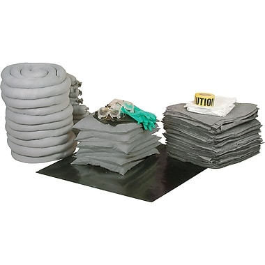 Zenith Safety 97-Gallon Spill Kits, Universal, Without Container