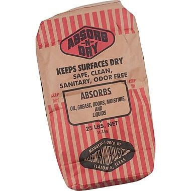 Absorb-n-Dry Absorbents, Floor Dry, 25-lb. Bag