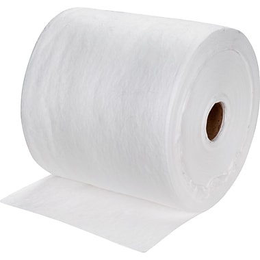 Zenith Safety Meltblown Sorbent Rolls, Oil Only, Medium, 150'L x 15