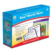 Carson-Dellosa Real World Mats Classroom Kit, Grade K