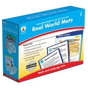 Carson-Dellosa Real World Mats Classroom Kit, Grade 1