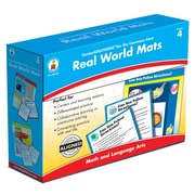 Carson-Dellosa Real World Mats Classroom Kit, Grade 4
