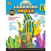 Carson Dellosa Daily Learning Drills Books, Gr K
