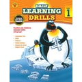 Carson Dellosa Daily Learning Drills Books, Gr 1