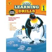 Carson Dellosa Daily Learning Drills Books, Gr 1