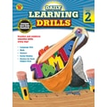 Carson Dellosa Daily Learning Drills Books, Gr 2