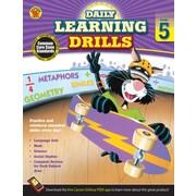 Carson Dellosa Daily Learning Drills Books, Gr 5