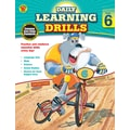 Carson Dellosa Daily Learning Drills Books, Gr 6