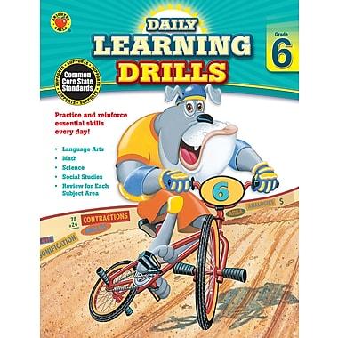 Carson Dellosa Daily Learning Drills Books, Gr 6