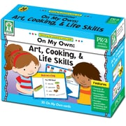 Key Education On My Own: Art, Cooking, & Life Skills Learning Cards