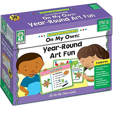 Key Education On My Own: Year Round Art Fun Learning Cards