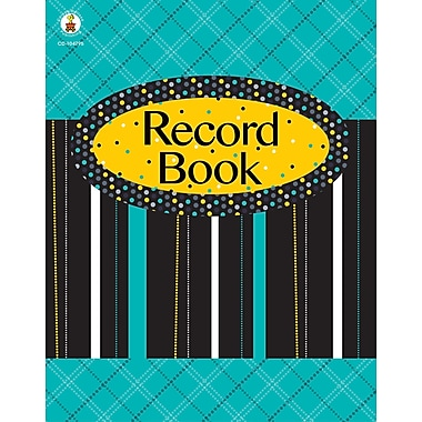 Black, White & Bold Record Book