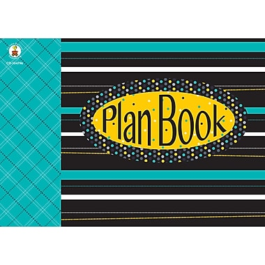 Plan Book, Black, White & Bold