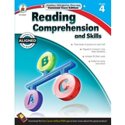 Reading Comprehension and Skills Workbook, Grade 4 / Ages 9 - 10