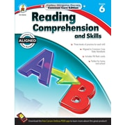 Reading Comprehension and Skills Workbook, Grade 6 / Ages 11 - 12