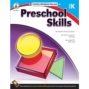 Preschool Skills Carson Dellosa Workbook