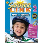 Math Plus Reading Workbook, Carson Dellosa Workbook Grades 1-2