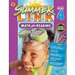 Math Plus Reading Workbook, Carson Dellosa Workbook Grades 3-4
