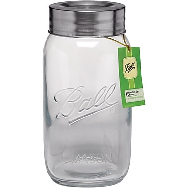 Loew-Cornell Glass Ball 1-Gallon Creative Container Jar