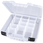 """ArtBin 6961AB Quickview Clear Lift-Out Tray with 10 Removable Dividers, 15"""" x 14.75"""" x 3.25"""""""