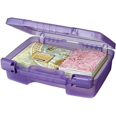 ArtBin Quickview 6987AB Transculent Purple Carrying Cases, 9.88