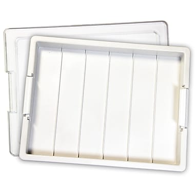 Darice EWC0288 White Bead Storage Tray, 13.75
