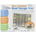Darice  Elizabeth Ward Bead Storage Solutions Tiny Container Storage Tray 10.5in.