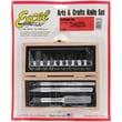 Excel  Craftsman Knife Set in Wood Box