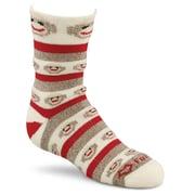 Fox River  Red Heel Crew Monkey Stripe Socks Medium