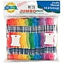 Janlynn Cotton Skeins Jumbo Craft Thread Pack