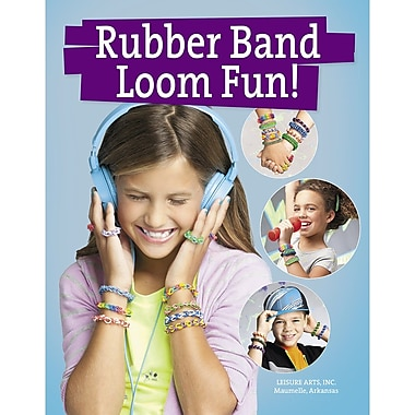 Leisure Arts Leisure Arts Rubber Band Loom Fun Book