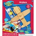 Masterpieces  Wood Painted MasterPieces Works of Ahhh Airplane Wood Paint Kit 10.2in.