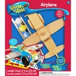 Masterpieces Non-toxic Wood Painted MasterPieces Works of Ahhh Airplane Wood Paint Kit (21252)