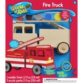 Masterpieces  Acrylic Ahhh Fire Truck Wood Paint Kit 10.2in.
