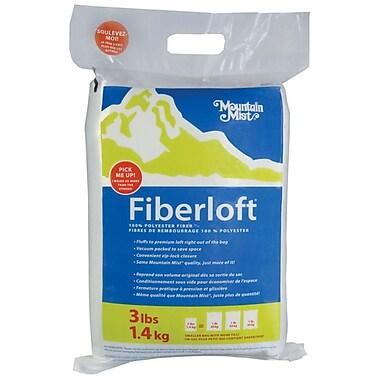 Mountain Mist Fiber 303MM White Polyester Fiberloft Stuffing, 48 oz.